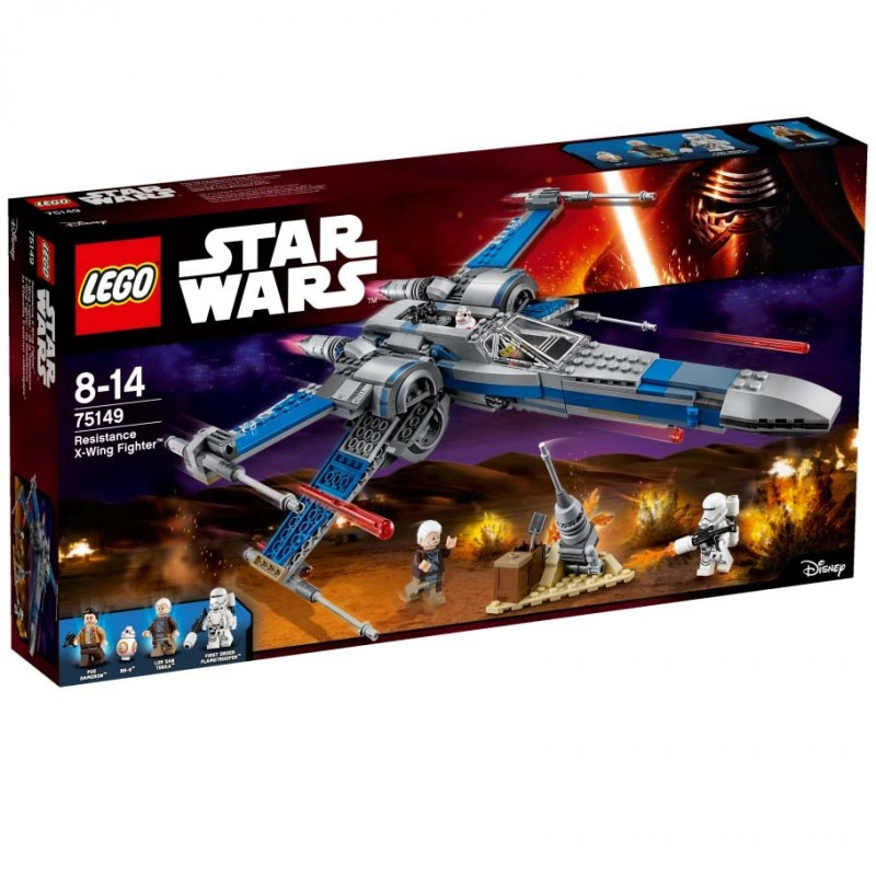 X-Wing Fighter de la Resistance
