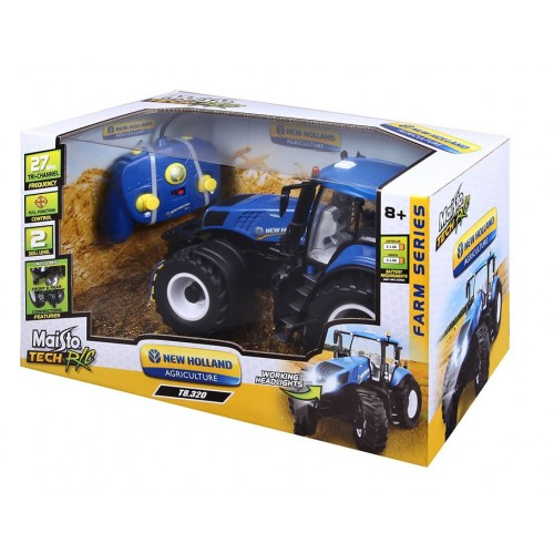 1:16 Farm Tractor 2.4 GHz (incl Li-ion rechargeable batteries)