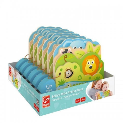 Baby's Wild Animal Book (36 pcs/crt)