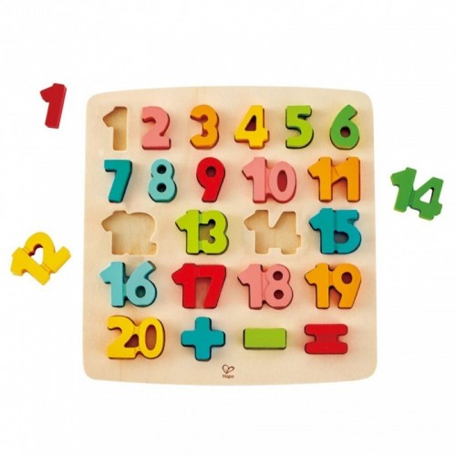 Chunky Number Math Puzzle (12 pcs/crt)