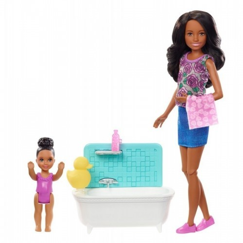 Barbie Skipper Babysitters Inc. Doll and Accessory Assortment.  Colisage: 4 pcs