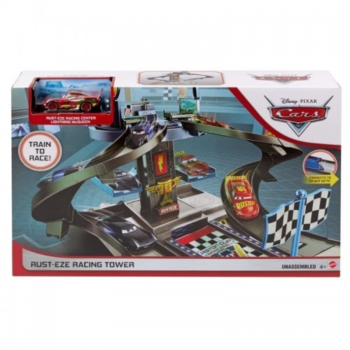 Disney Pixar Cars Rust-eze Racing Tower  Colisage: 3 pcs