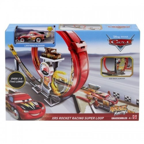Disney Pixar Cars XRS Rocket Racing Super Loop  Colisage: 3 pcs