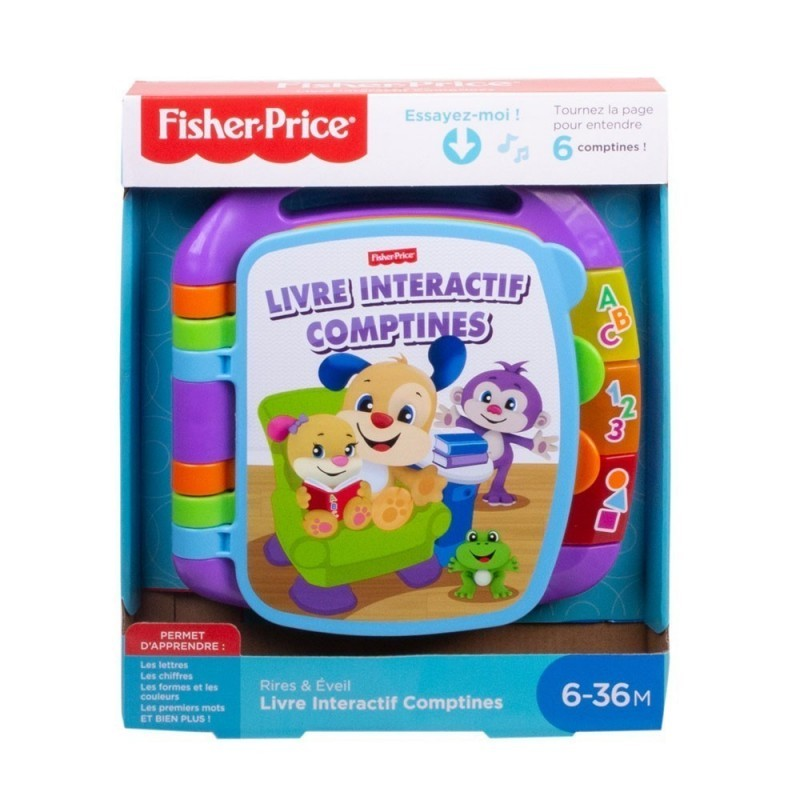 Fisher-Price Laugh & Learn Storybook Rhymes  Colisage: 5 pcs