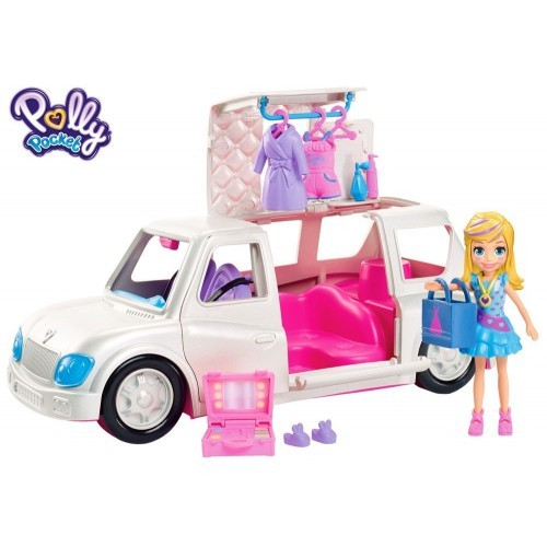 POLLY POCKET ARRIVE IN STYLE LIMO  Colisage: 2 pcs