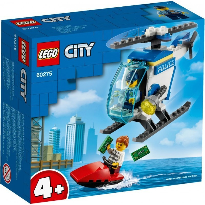 POLICE HELICOPTER (colisage: 4 pcs)