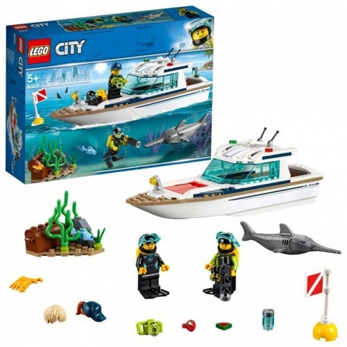 Le yacht de plongée (6 Pcs/Crt)