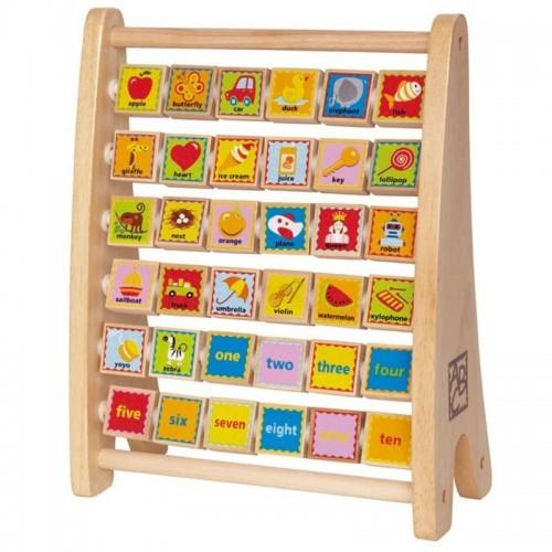 Alphabet Abacus (8 pcs/crt)